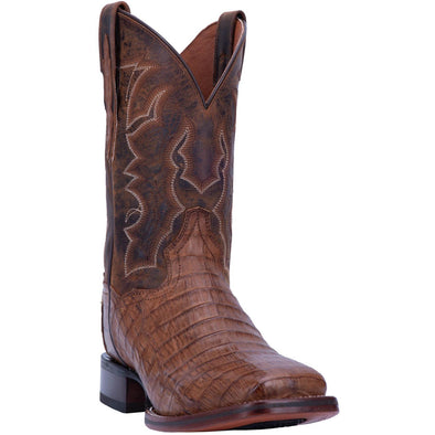 Men's Dan Post Kingsly Caiman Belly Boots Handcrafted - yeehawcowboy