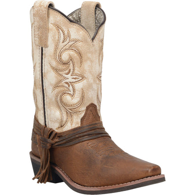 Kid's Dan Post Lil'Myra Leather Boots Handcrafted - yeehawcowboy