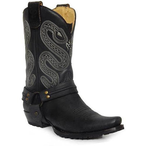 Men's Roper Sting Concealed Carry Boots Handcrafted - yeehawcowboy