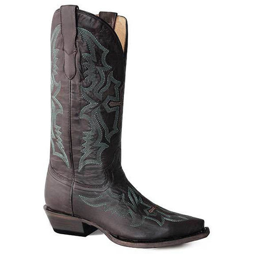 Women's Roper Sugarland Snip Boots Handcrafted - yeehawcowboy