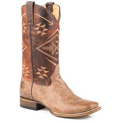 Women's Roper Ruby Square Toe  Boots Handcrafted - yeehawcowboy