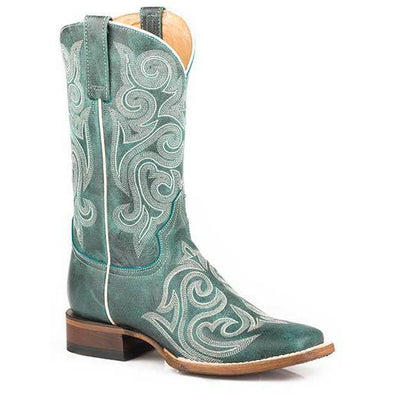 Women's Roper Blair Handcrafted Turquoise - yeehawcowboy