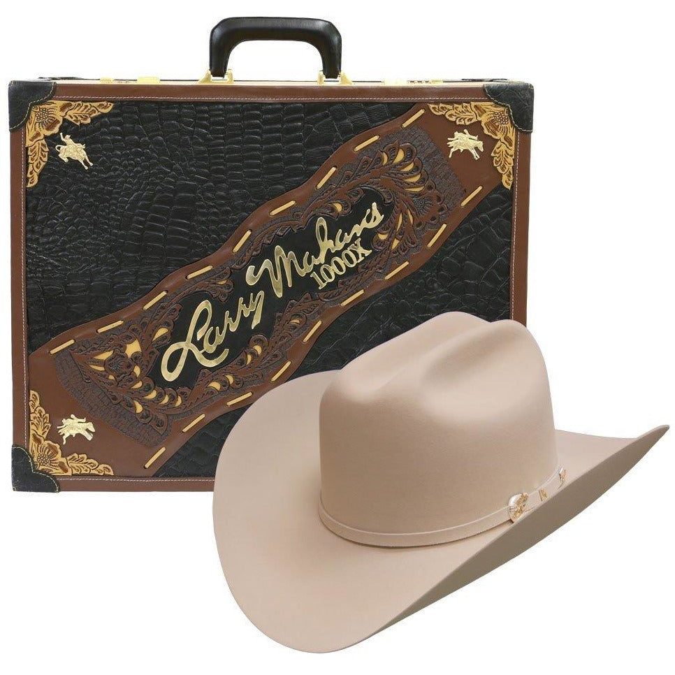 233a0705f06e6 ... 1000x Larry Mahan Imperial Hat Genuine Mink Silver Belly - yeehawcowboy  ...