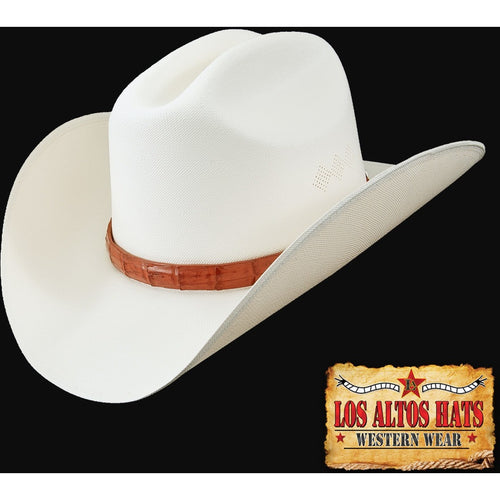 Los Altos 1,000x Straw Hat Customize The Brim & Choose Hat Band