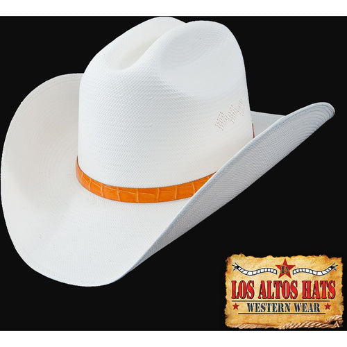 Los Altos 100x Straw Hat Customize The Brim & Choose Hat Band