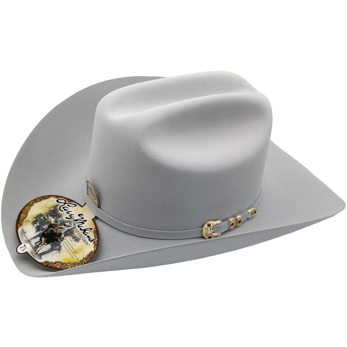 10x Larry Mahan Hat Tucson Platinum Fur Felt Cowboy Hat For Sale ... ca04aafc2ab