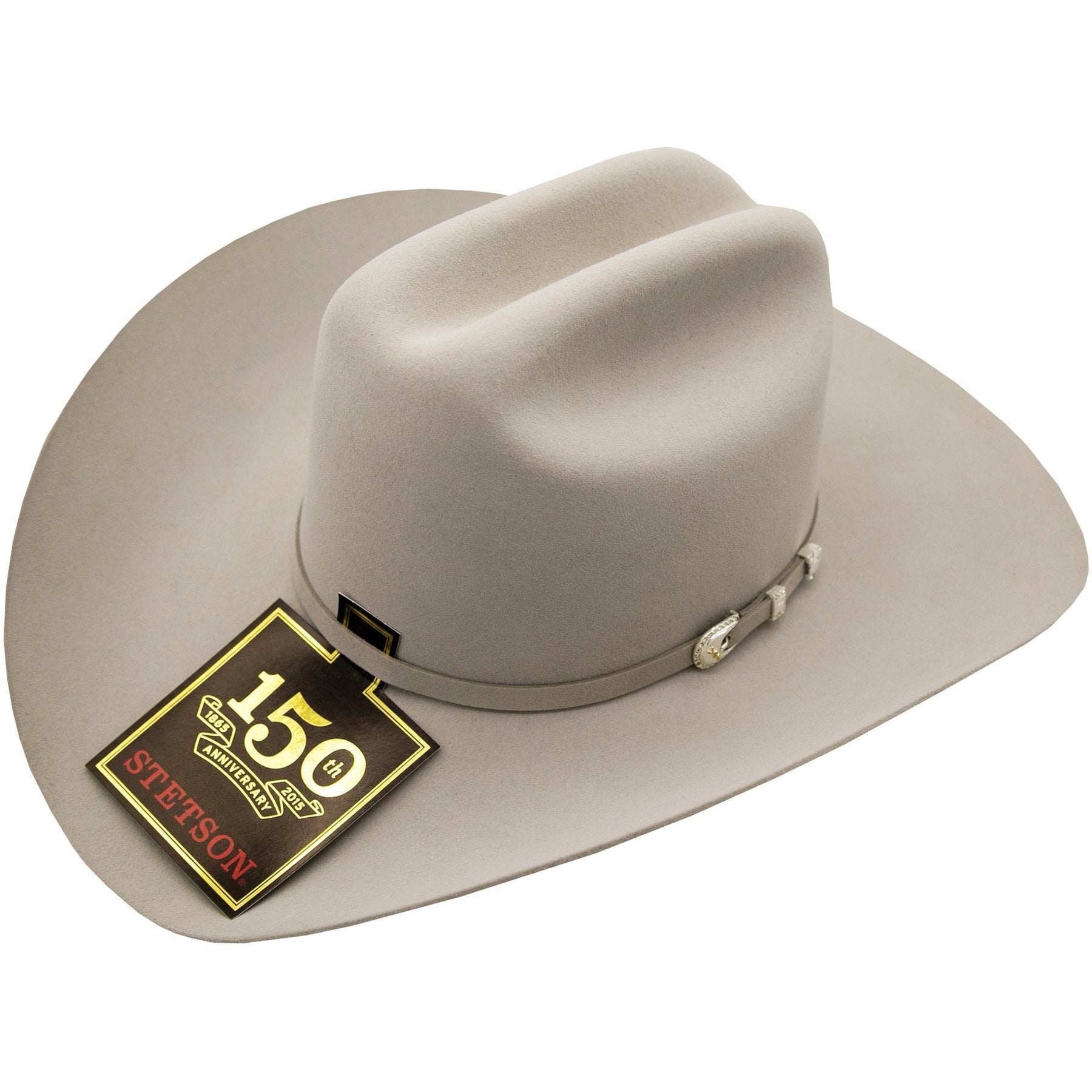 86c434b74a000 10x Stetson Shasta Felt Hat Mist Gray Handmade In The USA Stetson ...