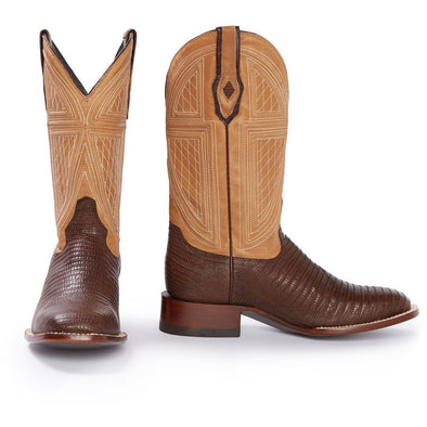 Men's Stetson Lizard Boots Handcrafted JBS Collection - yeehawcowboy
