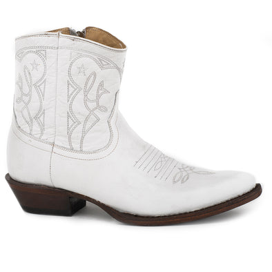 Women's Stetson Anika Leather Boots Handcrafted - yeehawcowboy