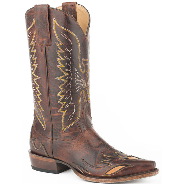 Women's Stetson Mason Leather Boots Handcrafted - yeehawcowboy