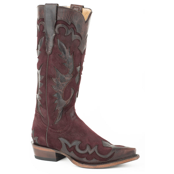 Women's Stetson Cora Leather Boots Handcrafted - yeehawcowboy