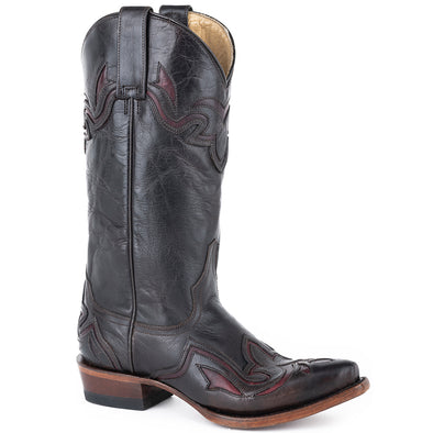 Women's Stetson Gianna Leather Boots Handcrafted - yeehawcowboy