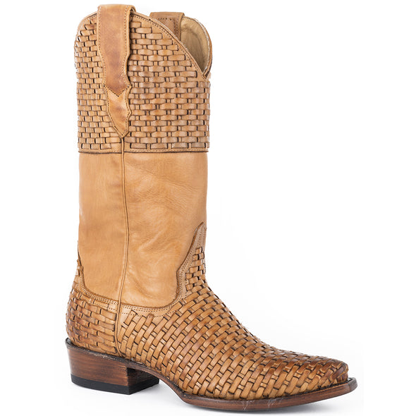 Women's Stetson Bea Leather Boots Handcrafted - yeehawcowboy