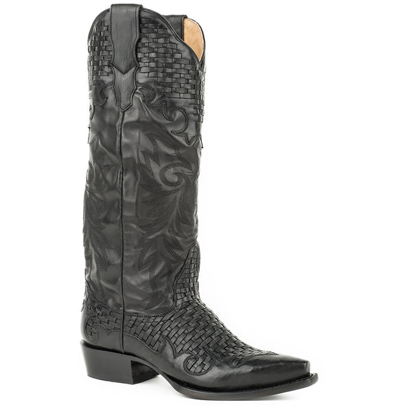 Women's Stetson Paloma Leather Boots Handcrafted - yeehawcowboy