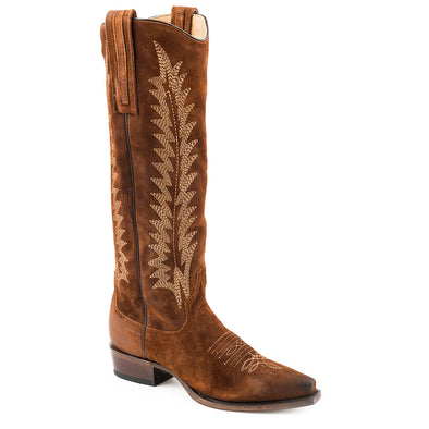 Women's Stetson Emme Leather Boots Handcrafted - yeehawcowboy