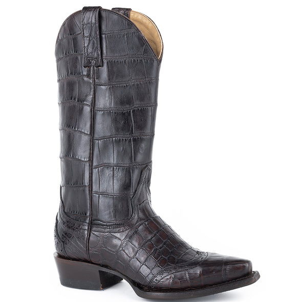 Women's Stetson Lola Alligator Boots Handcrafted - yeehawcowboy