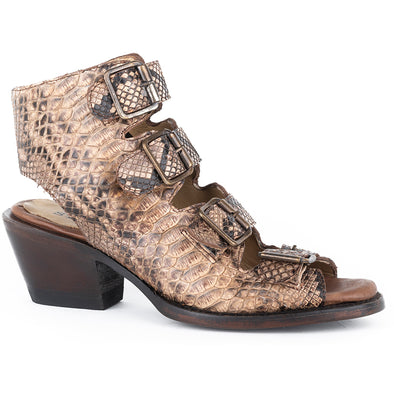 Women's Stetson Indie Python Boots Handcrafted - yeehawcowboy