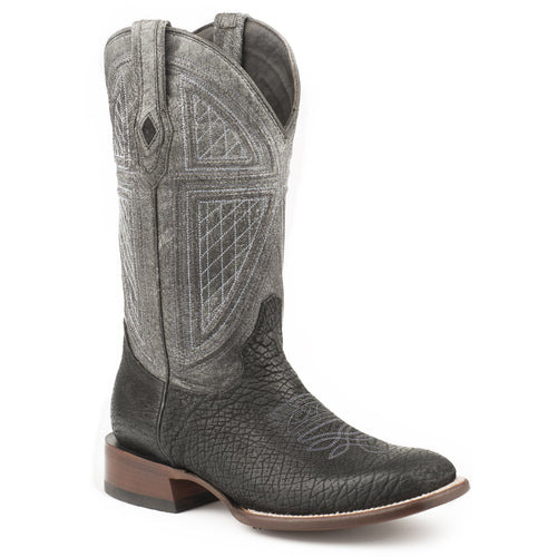 Men's Stetson Greycliff Genuine Hippo Boots Handcrafted JBS Collection - yeehawcowboy