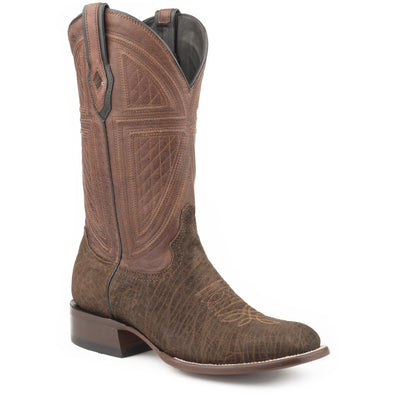 Men's Stetson Plentywood Genuine Hippo Boots Handcrafted JBS Collection - yeehawcowboy