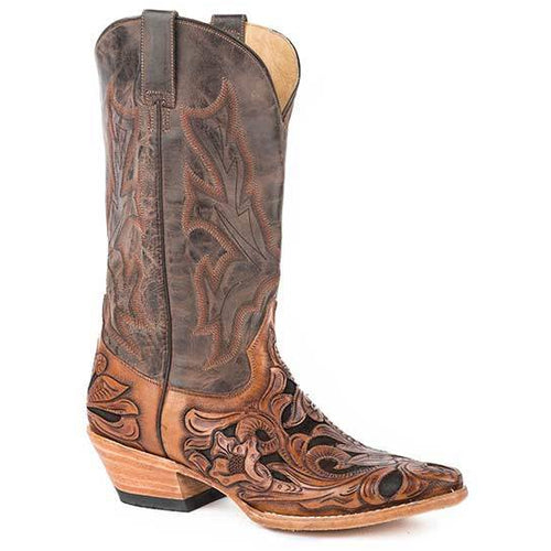 Men's Stetson Wicks Leather Boots Handcrafted - yeehawcowboy