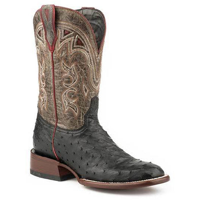 Women's Stetson Dulce Ostrich Exotic Boots Handcrafted JBS Collection - yeehawcowboy