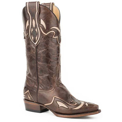 Women's Stetson Cali Leather Boots Handcrafted - yeehawcowboy
