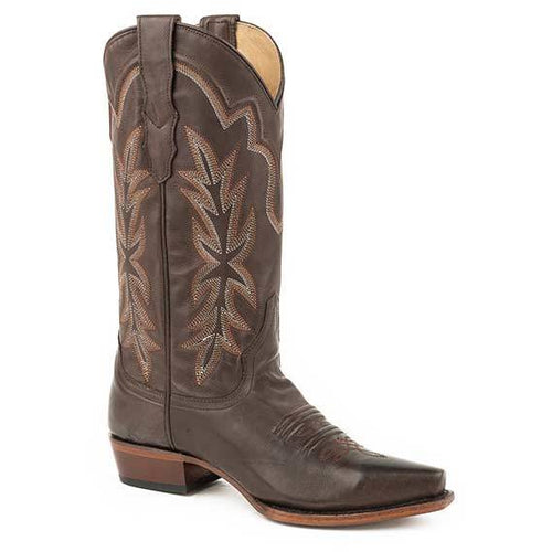 Women's Stetson Casey Leather Boots Handcrafted - yeehawcowboy