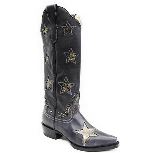 Women's Stetson Big Star Leather Boots Handcrafted - yeehawcowboy