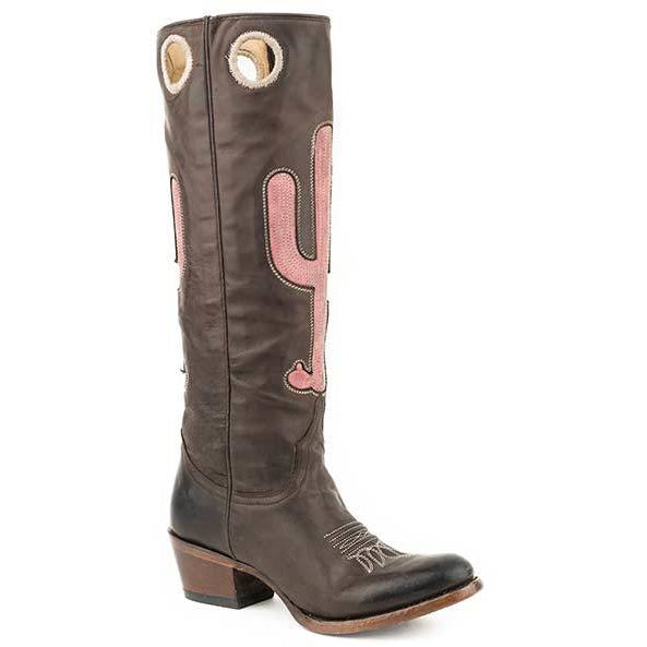 3de3a21b37b Women's Stetson Taylor Leather Boots Handcrafted