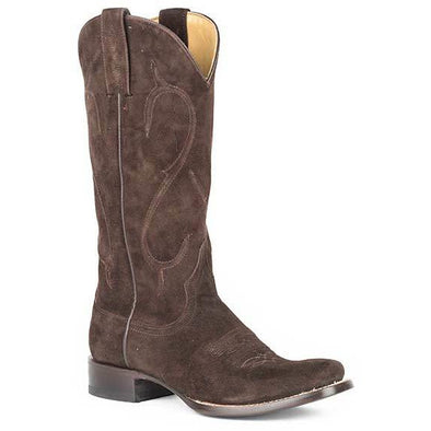 Women's Stetson Reagan Leather Boots Handcrafted - yeehawcowboy
