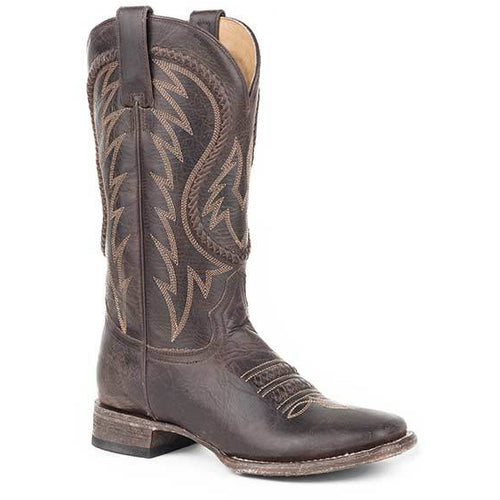 Women's Stetson Leia Leather Boots Handcrafted - yeehawcowboy