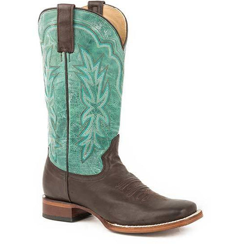 Women's Stetson Jessica Leather Boots Handcrafted - yeehawcowboy