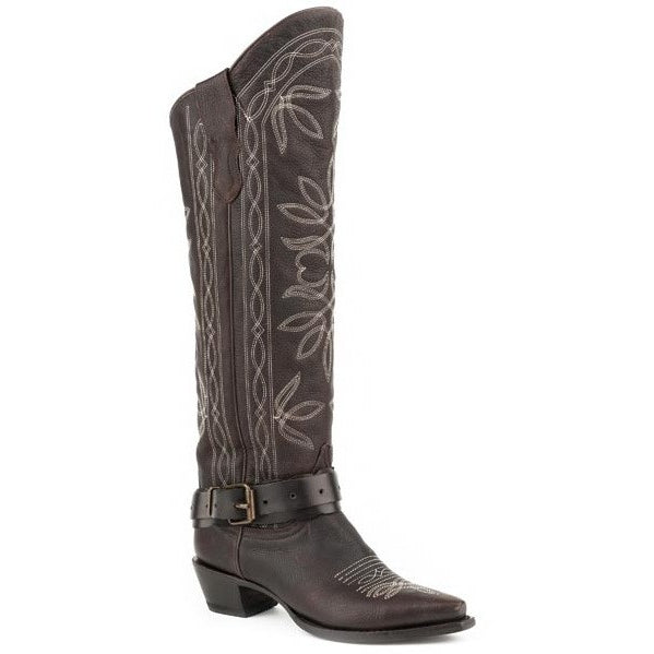Women's Stetson Serena Boots Snip Toe Handcrafted - yeehawcowboy