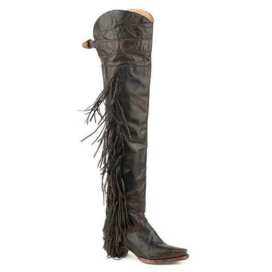 Women's Stetson Glam Leather Boots Handcrafted - yeehawcowboy