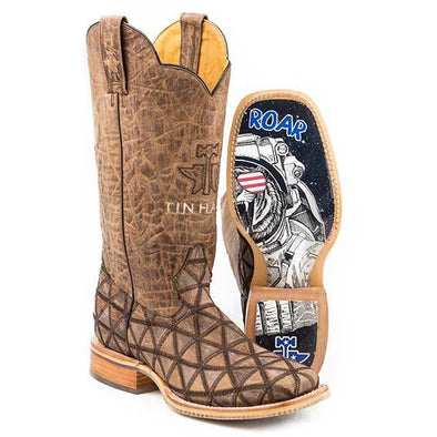 Men's Tin Haul Hanky Panky Boots With Roar Blastoff Sole Handcrafted - yeehawcowboy