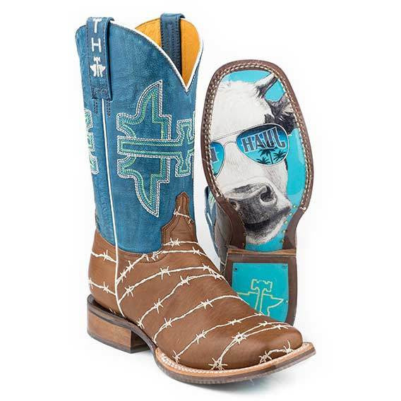 Women's Tin Haul Hands Off Boots Handcrafted - yeehawcowboy
