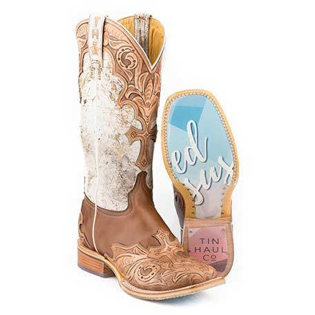 Women's Tin Haul Made In Heaven Boots Handcrafted - yeehawcowboy