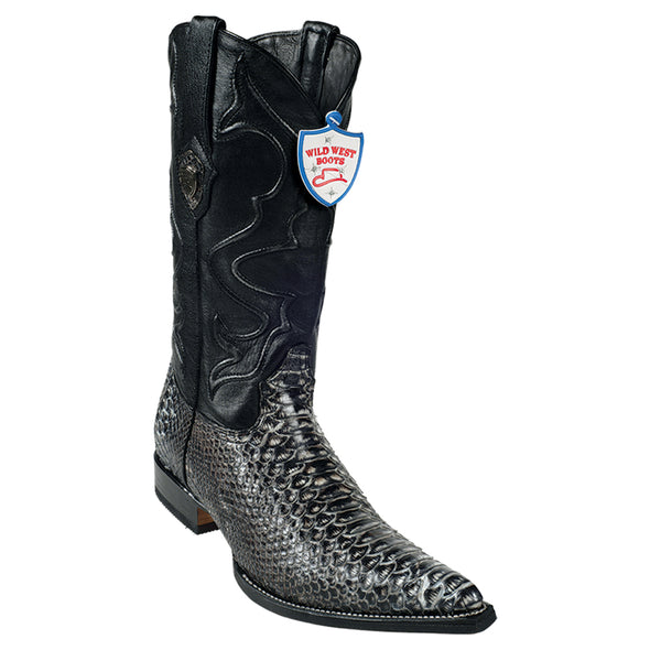 Men's Wild West Python 3x Toe Boots Handcrafted - yeehawcowboy