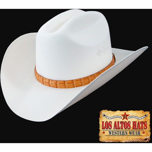 Los Altos 300x Straw Hat Customize The Brim & Choose Hat Band - yeehawcowboy