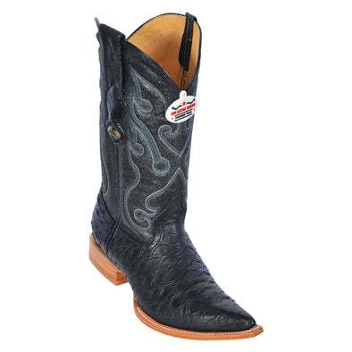 Men's Los Altos Anteater Print Boots 3X Toe Handcrafted - yeehawcowboy