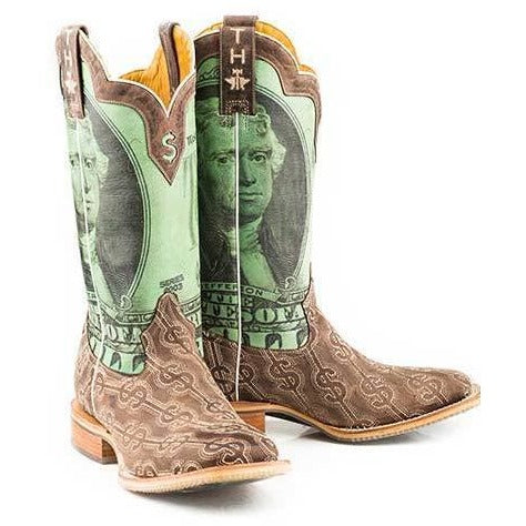 Men S Tin Haul Deuce Boots With Take The Money And Run