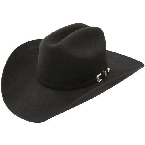 4X Stetson Deadwood Felt Cowboy Hat Black - yeehawcowboy