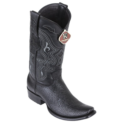 Men's King Exotic Sharkskin Boots Dubai Toe Handcrafted - yeehawcowboy