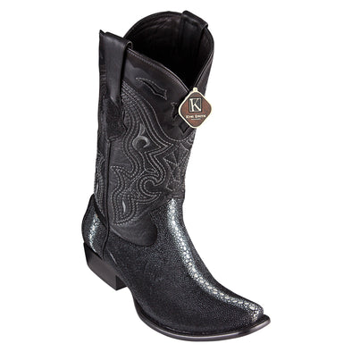 Men's King Exotic Stingray Boots Dubai Toe Handcrafted - yeehawcowboy