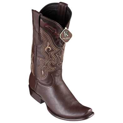 Men's King Exotic Elk Boots Dubai Toe Handcrafted - yeehawcowboy