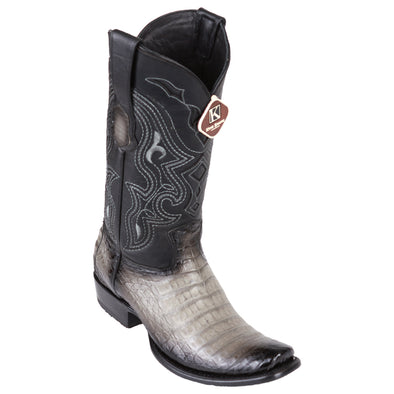 Men's King Exotic Caiman Belly Boots Dubai Toe Handcrafted - yeehawcowboy