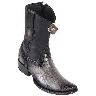 Men's King Exotic Ostrich Leg Boots Dubai Toe Handcrafted - yeehawcowboy