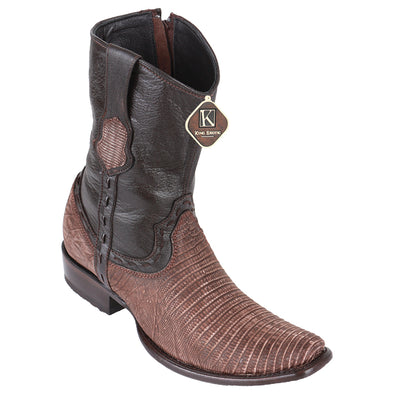 Men's King Exotic Teju Lizard Boots Dubai Toe Handcrafted - yeehawcowboy
