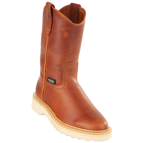 Original Michel Boots-Men's Pull On Work Boots Soft Toe D Sole - yeehawcowboy