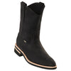 Men's Original Michel Pull On Boots Nubuck Leather With Rubber Sole - yeehawcowboy